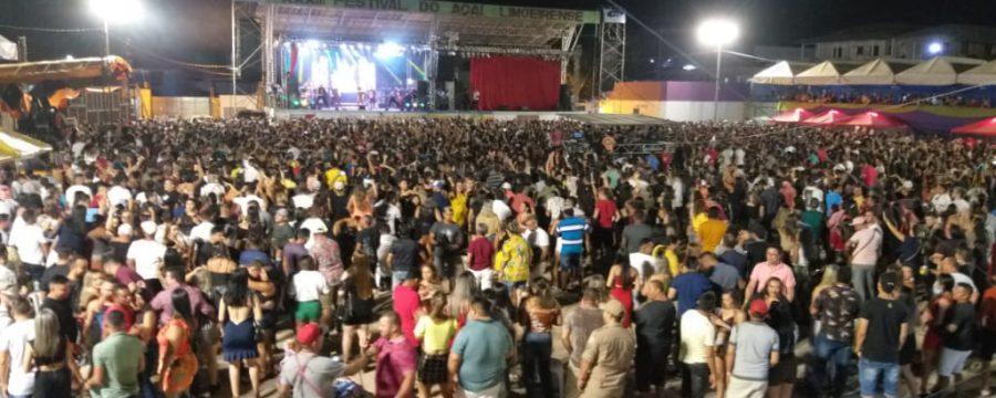 Corpo de Bombeiros atua na prevenção do XXXIII Festival do açaí em Limoeiro do Ajuru
