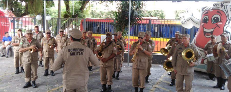 Corpo de Bombeiros Militar do Pará e HEMOPA juntos em Salvar Vidas