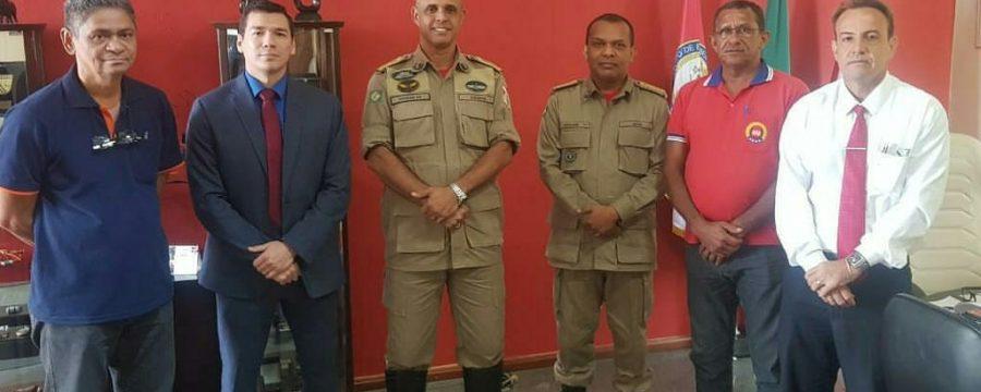 Diretoria da Associação de Cabos e Soldados PM BM, reúne-se com o Comandante Geral do CBMPA