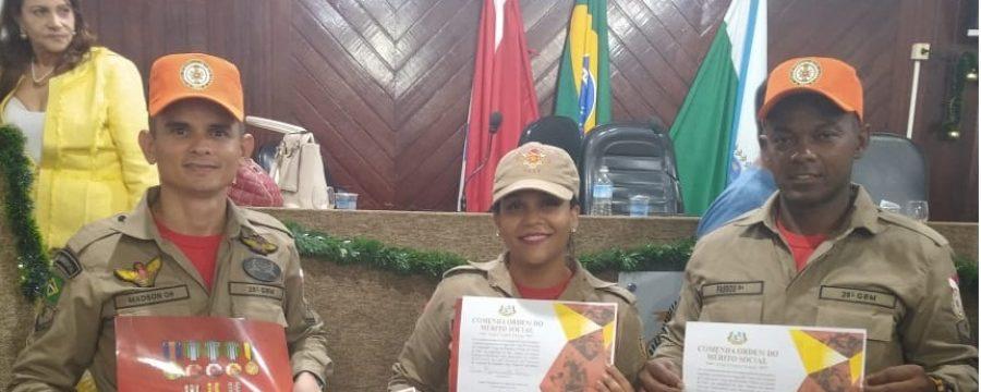 28º GRUPAMENTO DO CBMPA EM SÃO MIGUEL RECEBE HOMENAGEM DA CÂMARA DE VEREADORES DO MUNICÍPIO