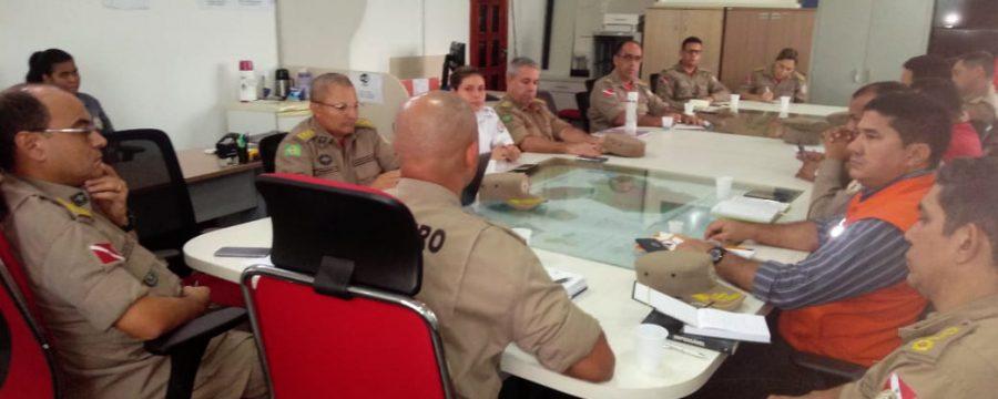 Gestores do Corpo de Bombeiros Militar do Pará debatem o planejamento para 2020