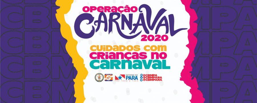 Bombeiros Militares dão dicas de segurança para quem vai levar crianças ao Carnaval