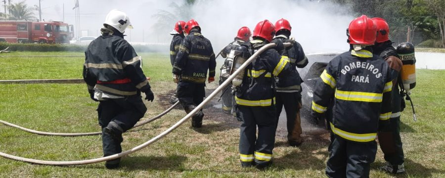 Corpo de Bombeiros Militar realiza instruções de Salvamento em Veículo ao Efetivo de Santa Izabel