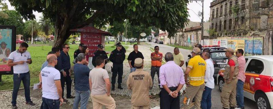 Segup coordena visita técnica para realização de pré-carnaval de Belém