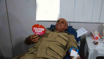 CBMPA e HEMOPA realizam campanha de doação de sangue