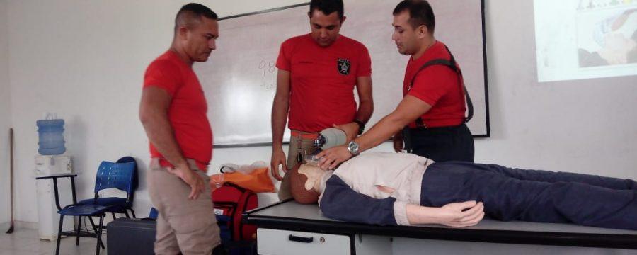 CBMPA realiza primeira semana de atendimento pré-hospitalar