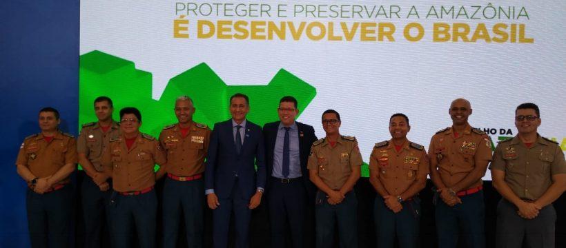 CBMPA participa da Reunião do Consórcio de Proteção a Amazônia Legal