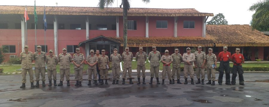 Estado Maior Geral realiza visita no 2° Grupamento Bombeiro Militar em Castanhal