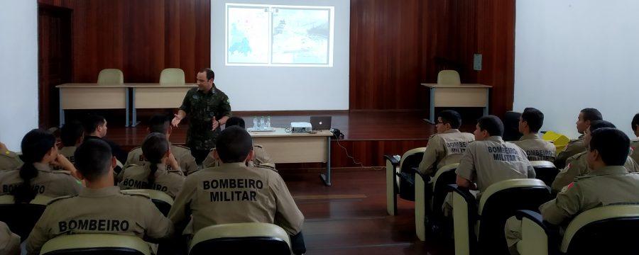 Corpo de Bombeiros realiza instrução sobre Atividade de Inteligência aos Aspirantes a Oficiais