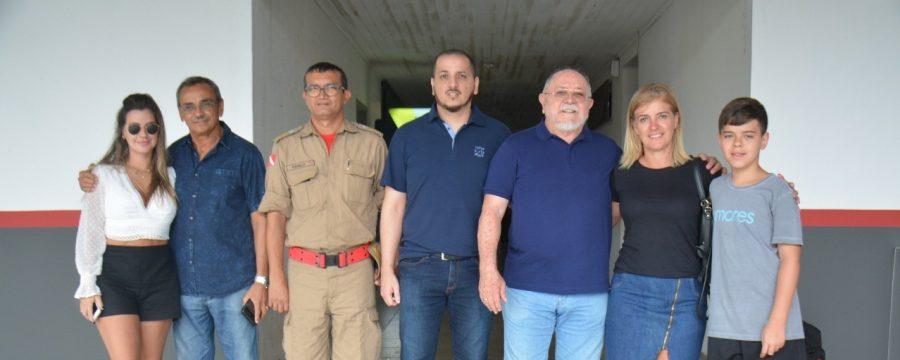 Antigos heróis do Corpo de Bombeiros Militar do Pará visitam o Comando Geral