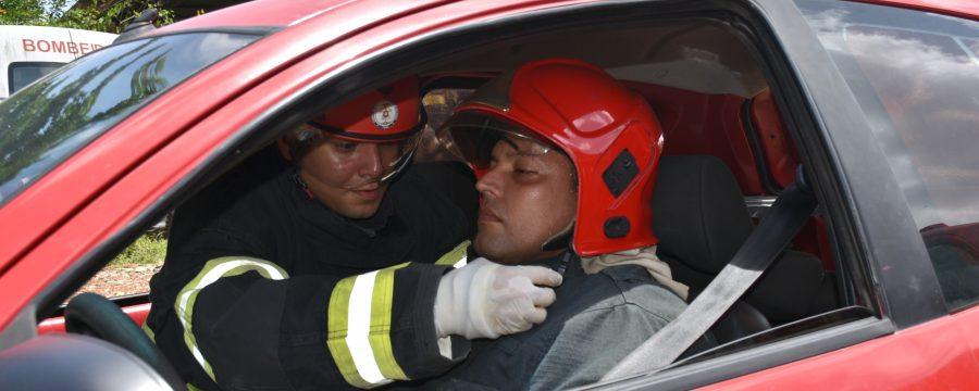CBMPA realiza Instrução de Salvamento Veicular