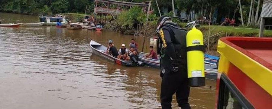 ATUALIZAÇÃO: CBMPA AUXILIA NAS BUSCAS EM NAUFRÁGIO NO RIO AMAZONAS