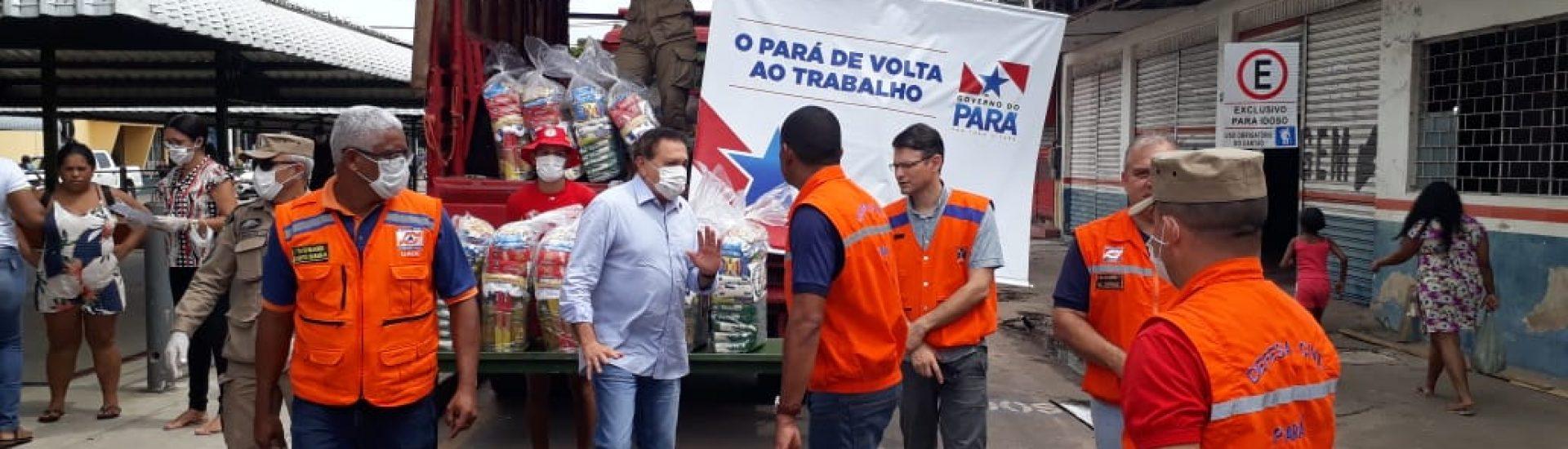 CBMPA E DEFESA CIVIL ESTADUAL REALIZA AÇÃO HUMANITÁRIA EM MARABÁ