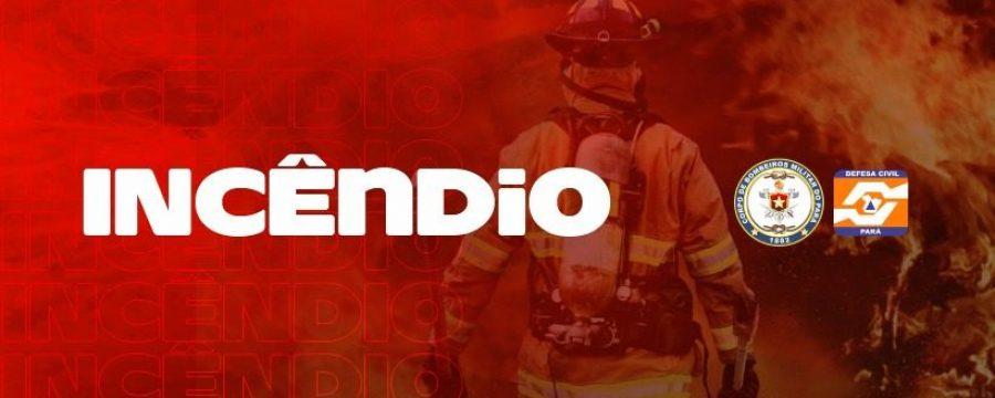 CBMPA atua em incêndio no bairro do Umarizal