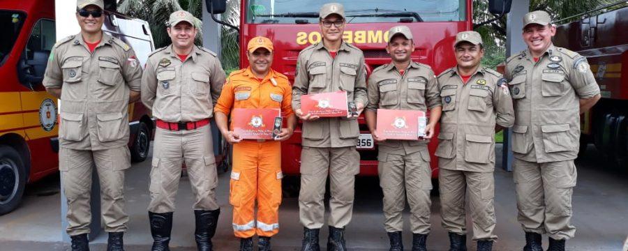 Corpo de Bombeiros realiza cerimônia de entrega de Medalhas de Bons Serviços