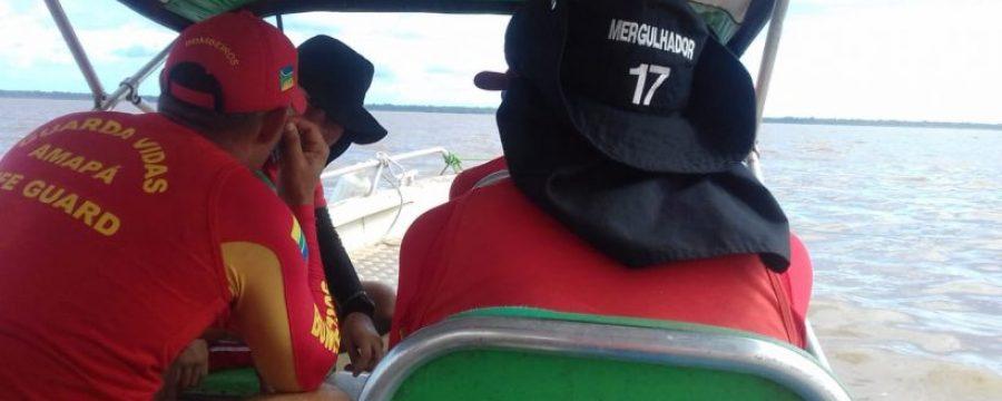 CBMPA realiza busca por desaparecido no Rio Guamá