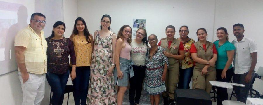 Projeto Bombeiros da Vida do CBMPA participa de programação voltada ao controle de qualidade do leite materno