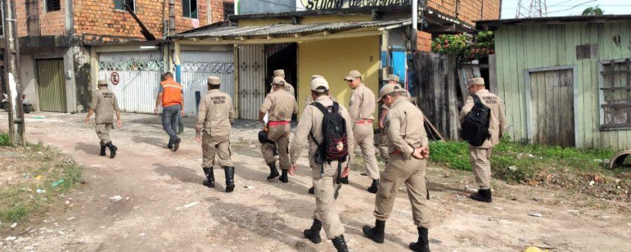 """Corpo de Bombeiros e Defesa Civil Estadual continuam cadastrando famílias no """"Programa Recomeçar"""", do Governo do Estado"""