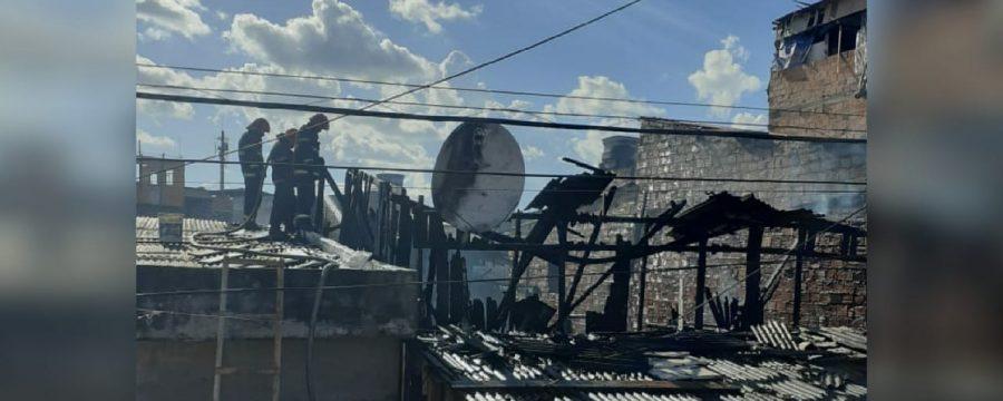 CBMPA combate incêndio no Guamá