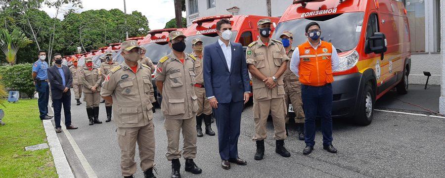 CBMPA recebe novas viaturas de resgate pelo Governo do Estado