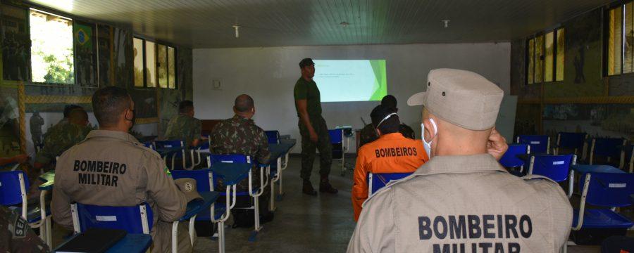 Militares do CBMPA participam de curso técnico de enfrentamento ao novo Coronavírus na Marinha do Brasil