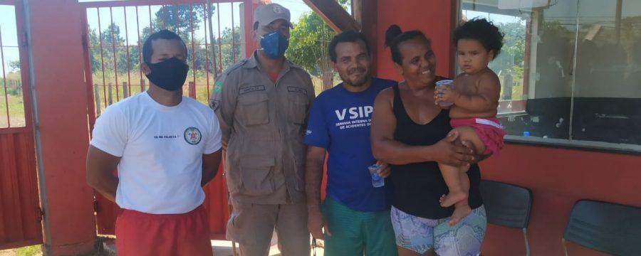 CBMPA salva criança vítima de engasgamento em Tucuruí