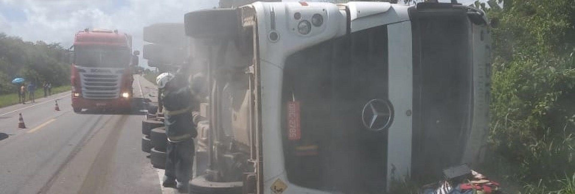 CBMPA realiza resgate em acidente na rodovia BR 316