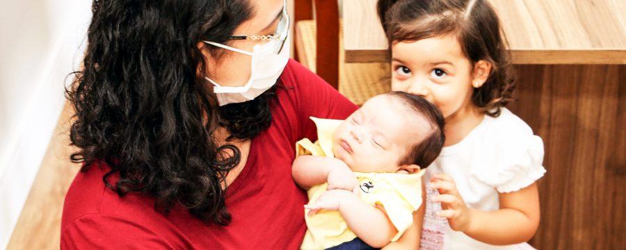 Projeto Bombeiros da Vida incentiva aleitamento materno