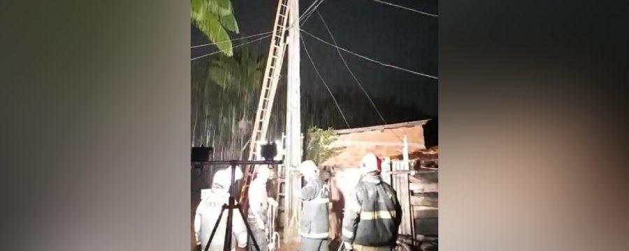 CBMPA realiza resgate em Ananindeua
