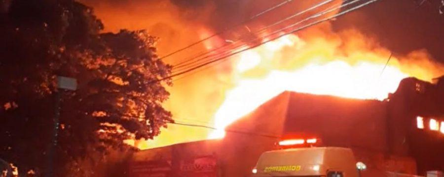 CBMPA Combate incêndio na Cidade Velha