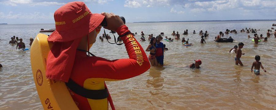 BOMBEIROS REALIZAM PREVENÇÃO NO ÚLTIMO FINAL DE SEMANA DA OPERAÇÃO VERÃO