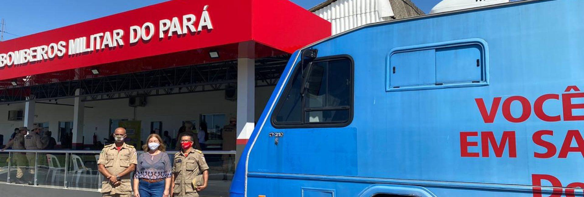 Corpo de Bombeiros Militar do Pará e Coordenadoria Estadual de Defesa Civil realizam campanha de doação de sangue em parceria com a Fundação Hemopa