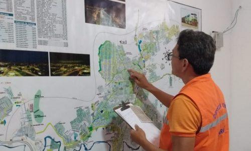 TÉCNICOS DA DEFESA CIVIL ESTADUAL APRESENTAM ESTATÍSTICAS DA OPERAÇÃO FÊNIX AO COMANDANTE OPERACIONAL DO CBMPA