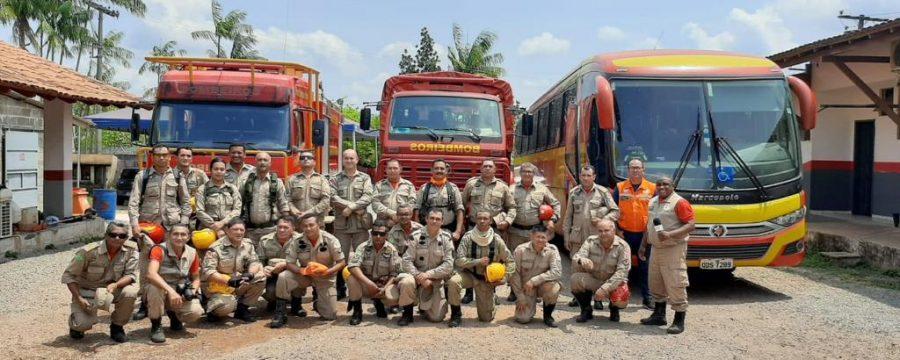 CBMPA combate focos de incêndio na 3ª e última fase da Operação Fênix