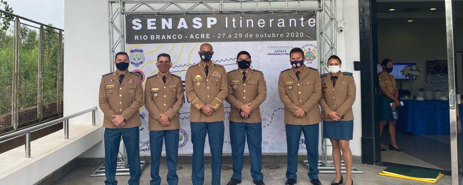 CBMPA PARTICIPA DA TERCEIRA EDIÇÃO DA SENASP ITINERANTE EM RIO BRANCO, NO ACRE