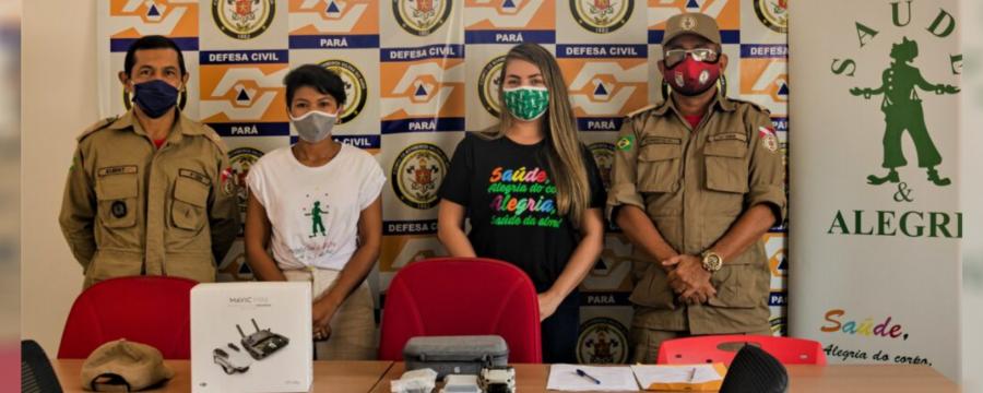 Corpo de bombeiros ganha drone que ajudará na identificação de incêndios florestais na Amazônia