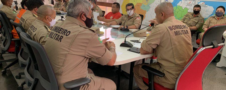 CBMPA realiza reunião sobre a situação atual do seu efetivo operacional