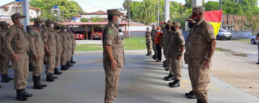 CBMPA realiza visita aos Grupamentos de Mosqueiro e Cremação
