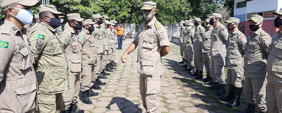 Alto Comando do CBMPA visita quartéis do Sul e Sudeste do Estado