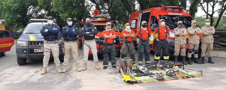 CBMPA realiza prevenção na Operação Natal