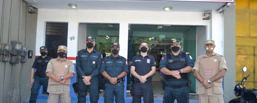 CBMPA participa de inauguração de loja de artigos militares da Polícia Militar