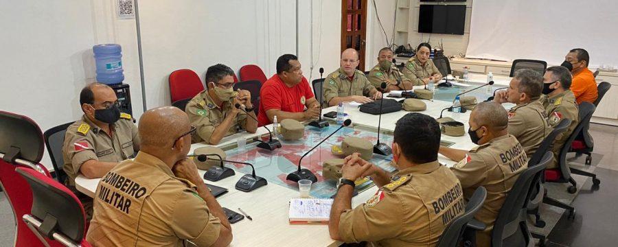 Alto comando do CBMPA realiza reunião estratégica para 2021