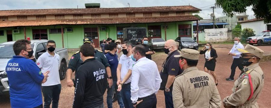 """CBMPA participa de reunião do projeto """"Segurança por todo o Pará"""" em Abaetetuba"""
