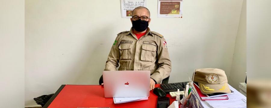 OFICIAL PSICÓLOGO DO CBMPA DEFENDE TESE SOBRE OS MILITARES DA CORPORAÇÃO