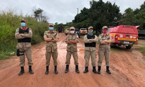 """CBMPA ATUA NA 9° FASE """"OPERAÇÃO AMAZÔNIA VIVA"""" FRENTE ANAPU"""