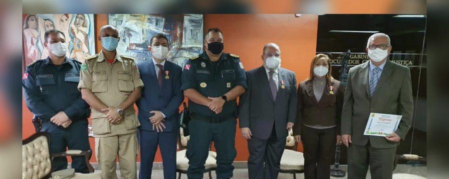 CBMPA REALIZA VISITA INSTITUCIONAL AO MINISTÉRIO PÚBLICO DO PARÁ