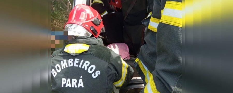 CBMPA resgata vítimas de acidente em estrada de Salinópolis