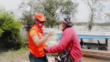 ENTREGA DE KITS HUMANITÁRIOS PARA 80 FAMÍLIAS DE COMUNIDADES RIBEIRINHAS IMPACTADAS PELA CHEIA DO RIO XINGU