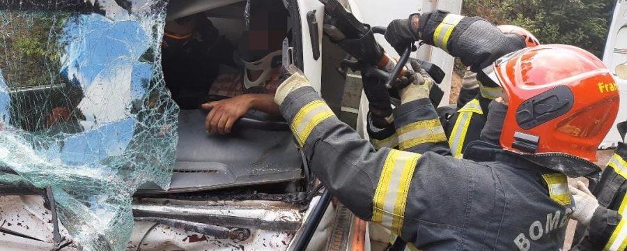 CBMPA REALIZA RESGATE DE VÍTIMA PRESA NAS FERRAGENS NA RODOVIA BR 163 EM SANTARÉM