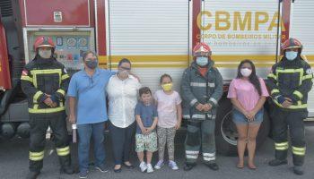 CBMPA recebe visitas de cortesia